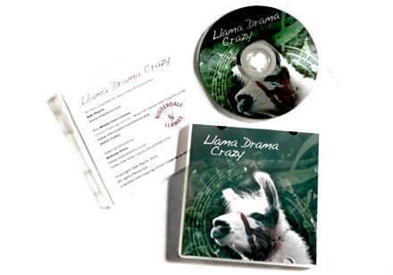 Llama Drama Crazy CD