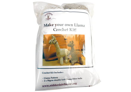 Make Your Own Llama Crochet Kit
