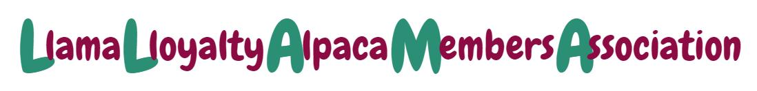 Llama Lloyalty Alpaca Members Association Logo